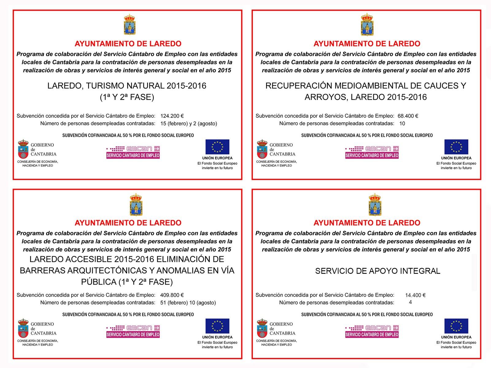 programas de corporaciones locales 2015 laredo